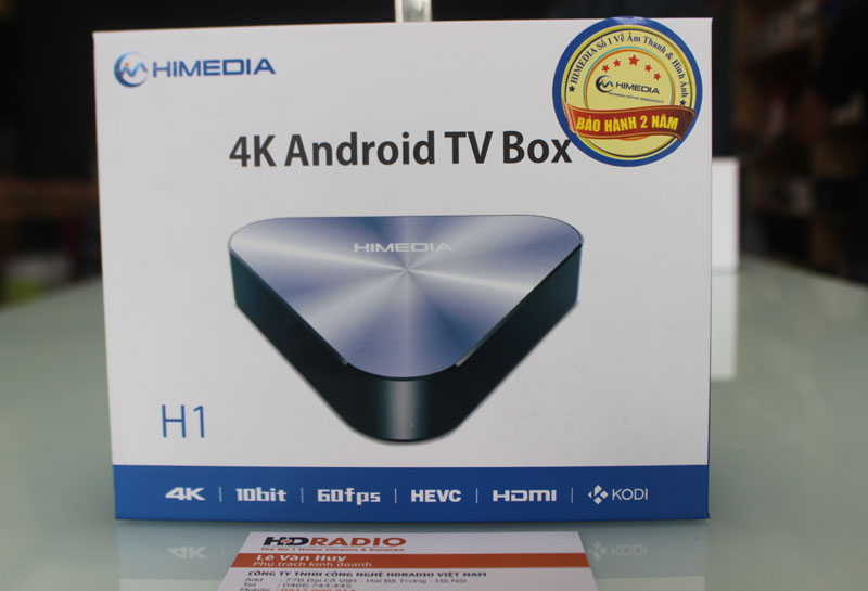 HIMEDIA H1 - QUAD CORE, ANDROID 5.1
