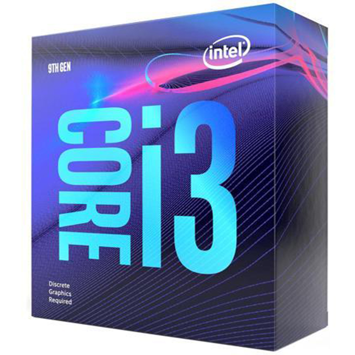 CPU Intel i3 9100F 3.6Ghz