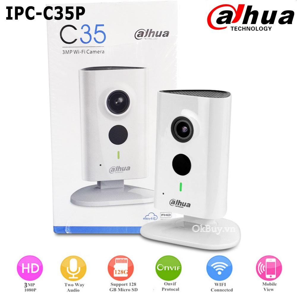 Camera Wifi Ip Dahua C35