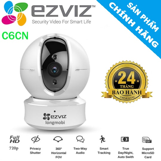 Camera EZVIZ C6CN - CAMERA IP 1.0 MEGAPIXEL