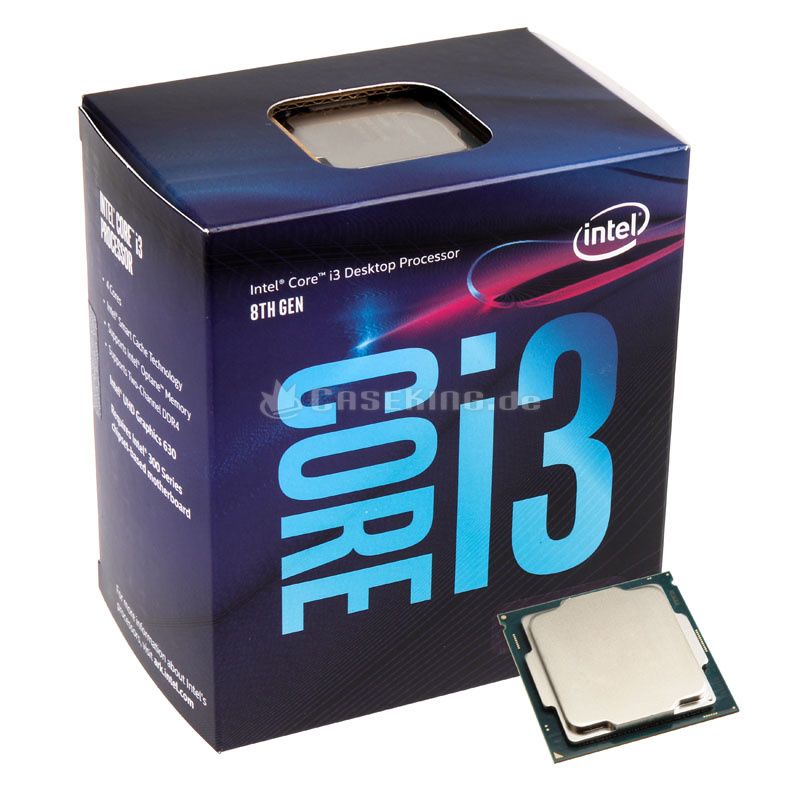 CPU Core I3 8100 Box