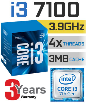 Intel® Core™ i3-7100 Processor (3M Cache, 3.90 GHz)
