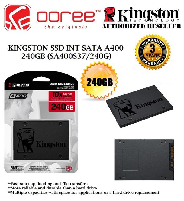 Ổ cứng Kingston SSD A400 240Gb
